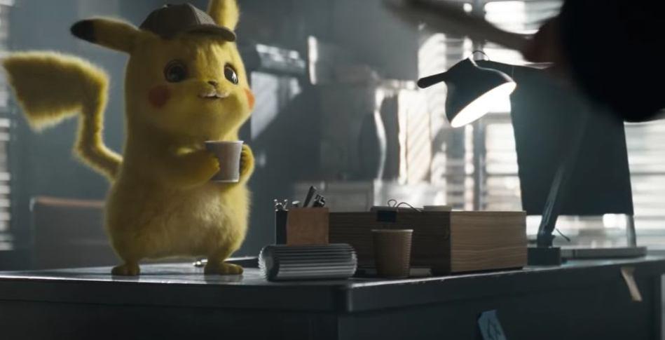 detective pikachu is so cute