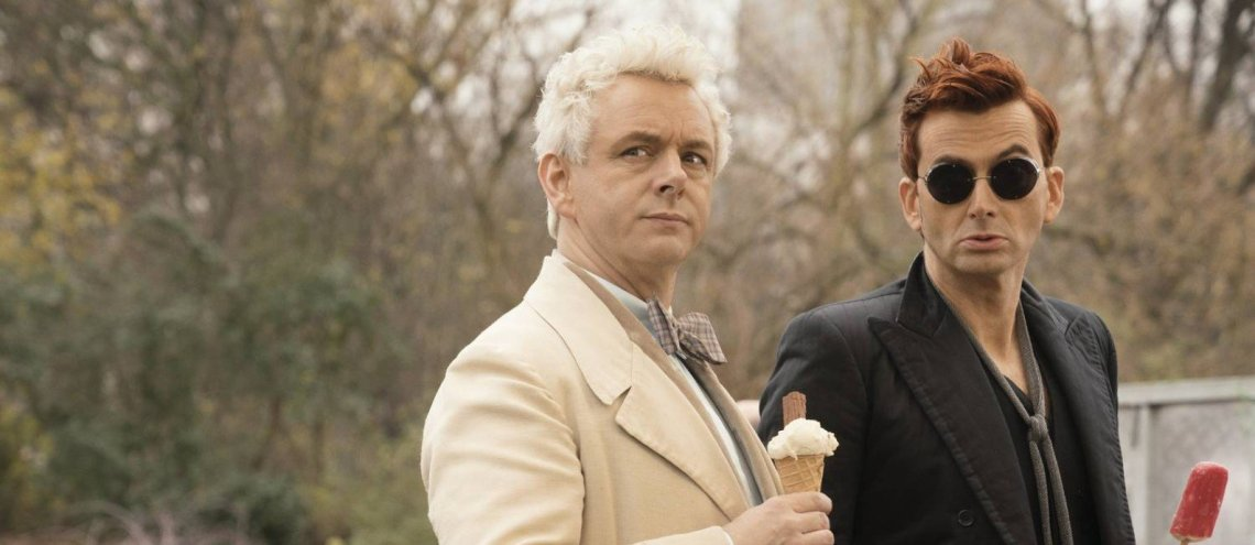 good omens aziraphale crowley