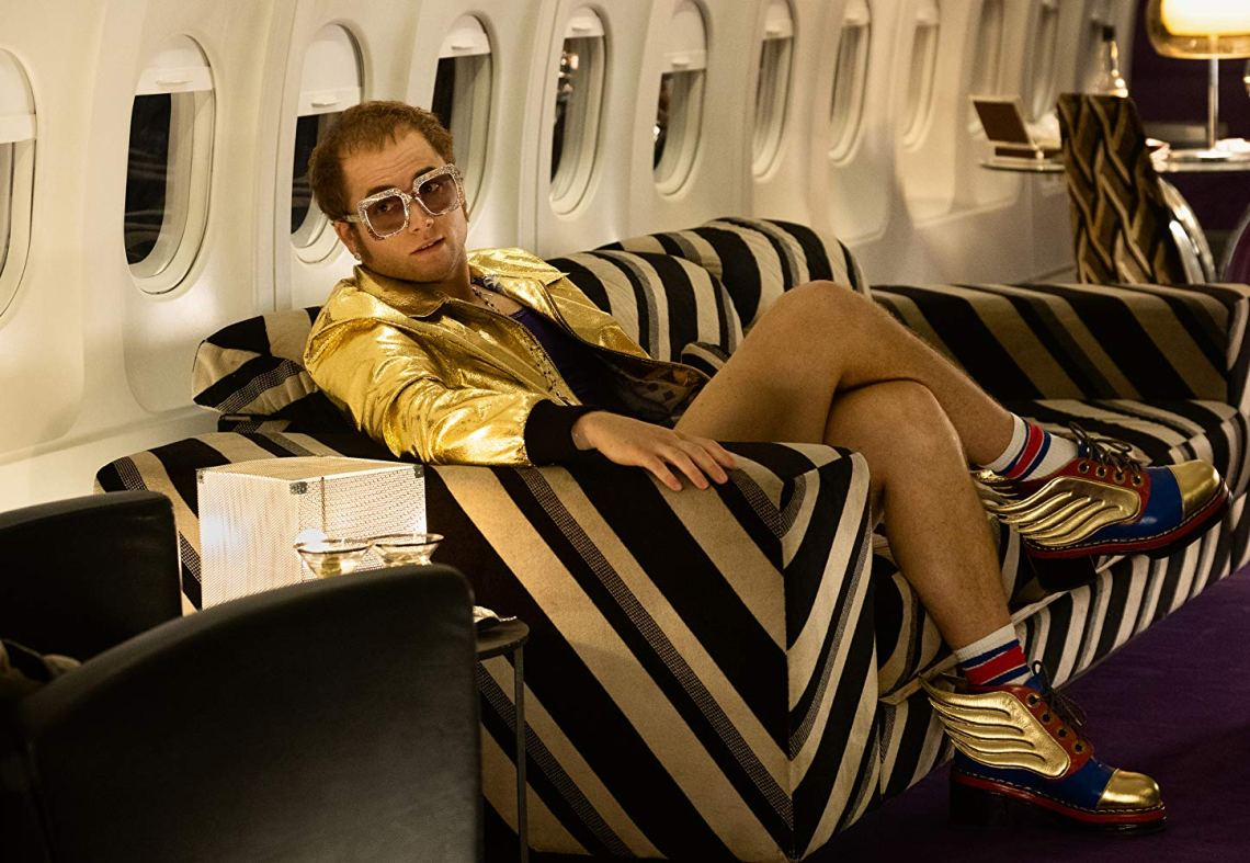 rocketman elton john airplane