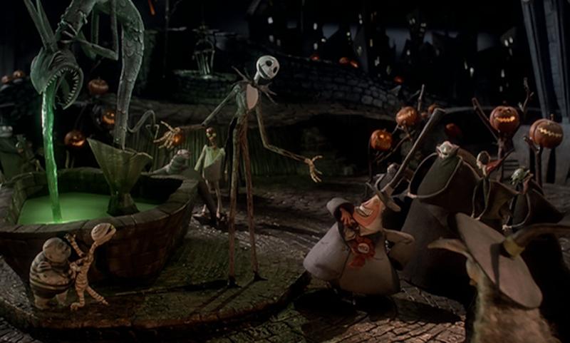 estranho mundo de jack e o halloween