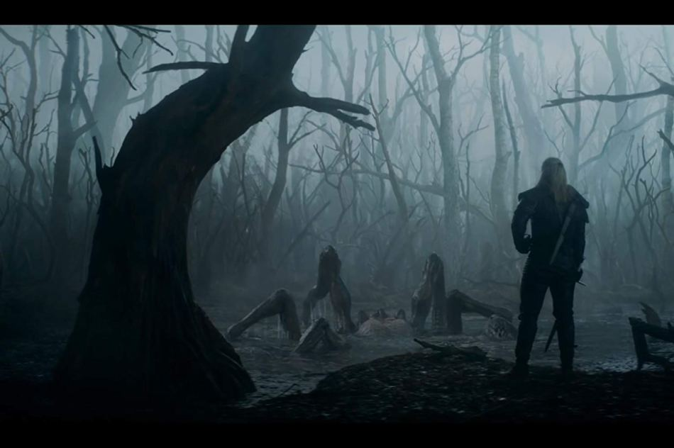 the witcher geralt mosnter hunter
